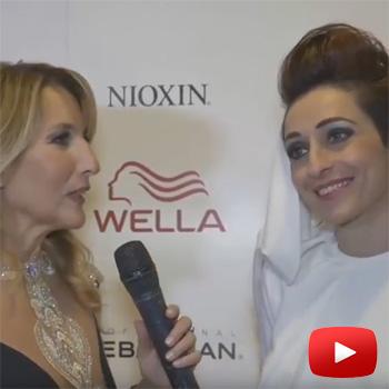 Wella CS18 – Jo Squillo intervista Giusy D'Onghia